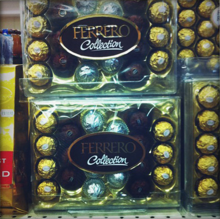 Ferrero Collection: R$31.50 (US$19.64). This is probably a completely reasonable price.