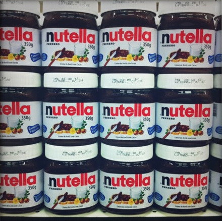 Nutella: R$18 (US$11.22)