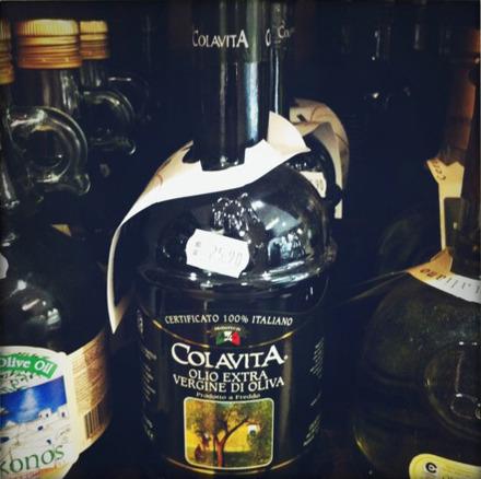 Colavita olive oil (small bottle): R$25.90 (US$16.15)