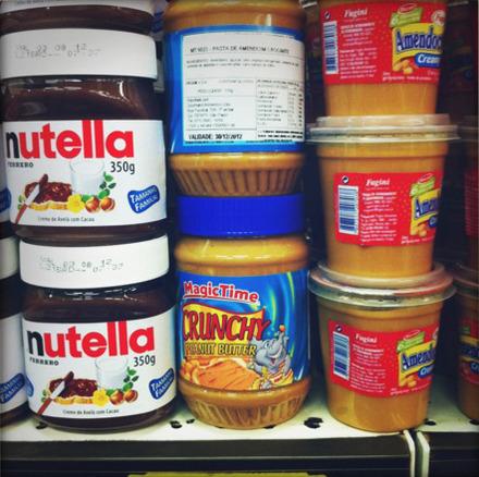 Magic Time Crunchy Peanut Butter: R$21.50 (US$13.40)