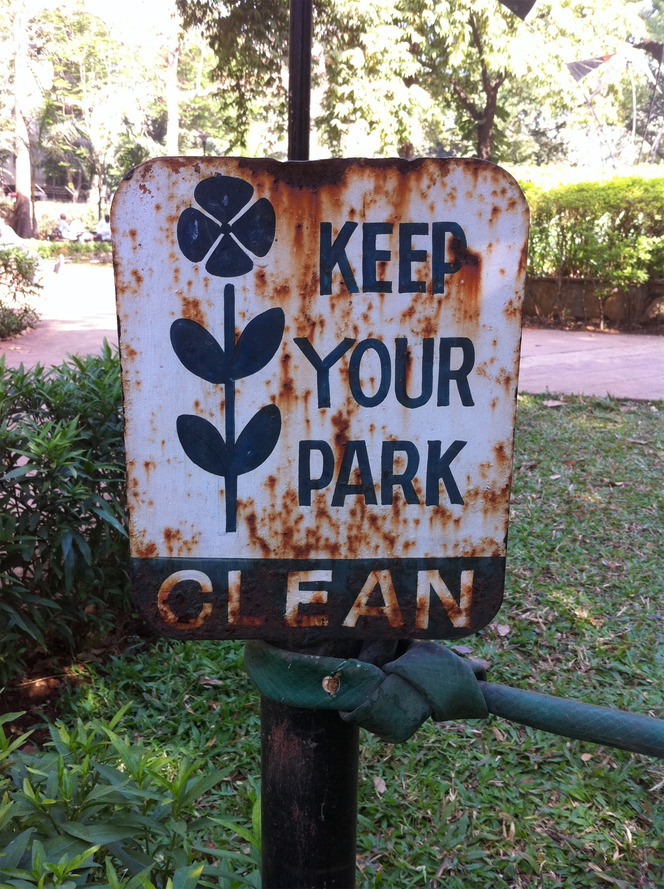 Keep your park clean