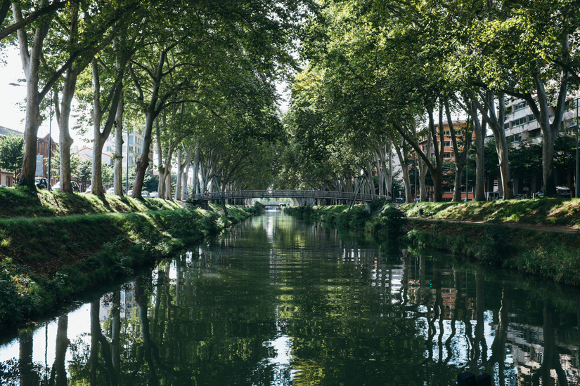 water, toulouse, Toulouse, Canal du Midi, canal