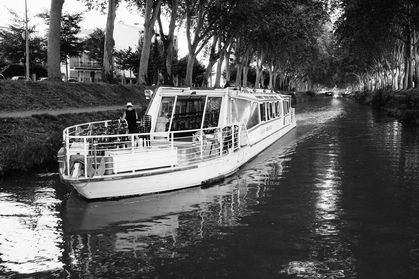 toulouse, Toulouse, Canal du Midi, boat