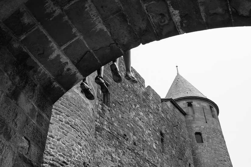 architecture, carcassonne, Carcassonne, wall
