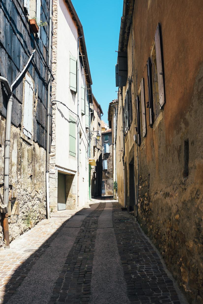 countryside, architecture, park, languedoc, Olargues, town, cobblestone, Languedoc, Parc naturel régional du Haut-Languedoc