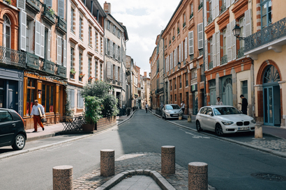 city, street, architecture, toulouse, Toulouse