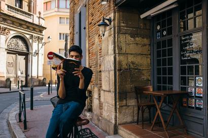 city, street, architecture, portrait, toulouse, Toulouse, Chez Navarre