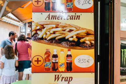 food, tourism, Food, carcassonne, Carcassonne, Americain, American