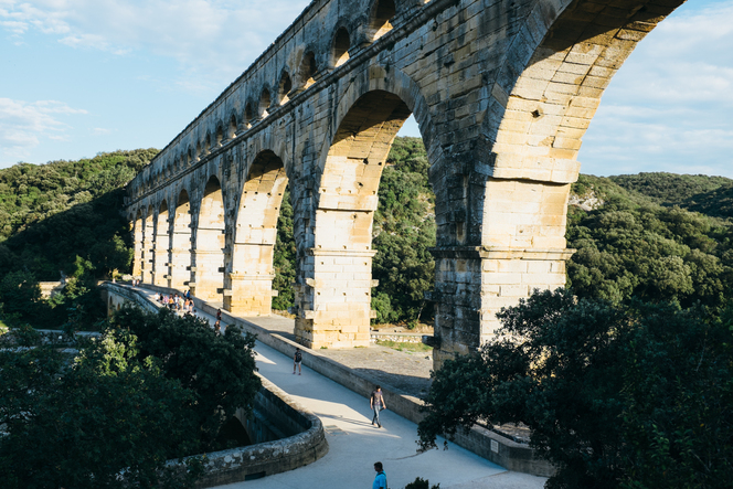 architecture, languedoc, Languedoc, Pont du Gard, Roman, aqueduct